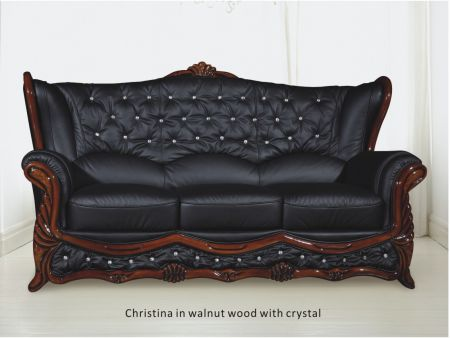 Christina Sofa With Crystals