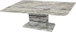 Roseberry Marble Effect Coffee Table
