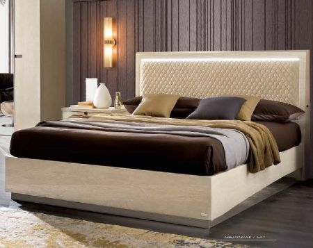 Camel Ambra Letto Rombi Italian Luna Bedroom Group With Storage Bed