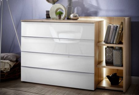Nolte Akaro Wooden Front Chest Of Drawers