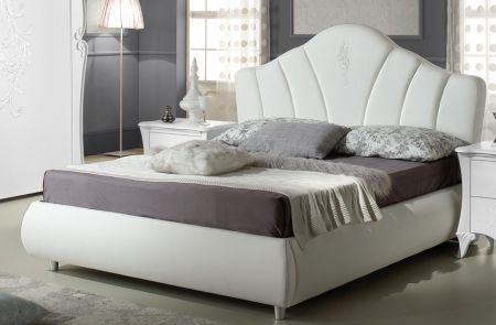 Tuttomobili Doris White Storage Bed