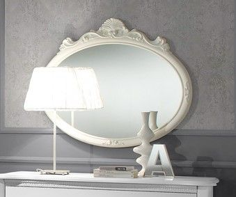 Tuttomobili Doris White Mirror