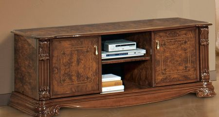 H2O Design Elizabeth Walnut Radica TV Unit