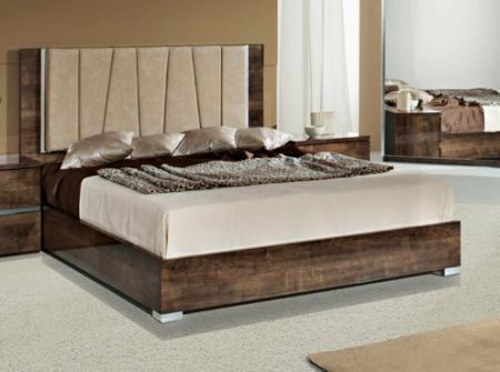 H2O Design Eva Oak Bed Frame