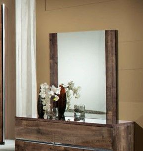 H2O Design Eva Oak Mirror