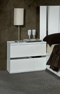 H2O Design Eva White Night Table
