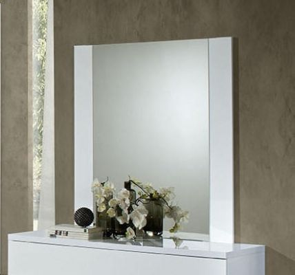 H2O Design Eva White Mirror
