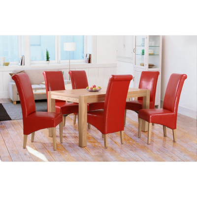 Evelyn Oak Large Dining Table