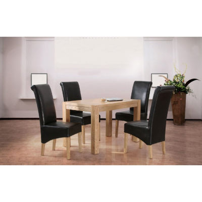Evelyn Oak Small Dining Table