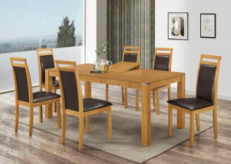 Florida Extending Dining Set With Six Chairs