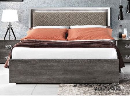 MCS Dover Grey Bed