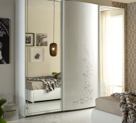 Tuttomobili Hilton White 3 Door Sliding Wardrobe