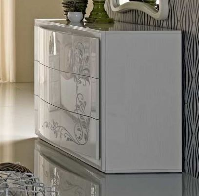 Tuttomobili Hilton White Chest Of Drawers