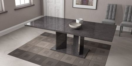 Status Sarah Grey Birch Openable Dining Table