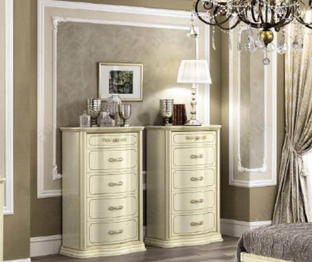 Camel Group Torriani Ivory 6 Drawer Chest