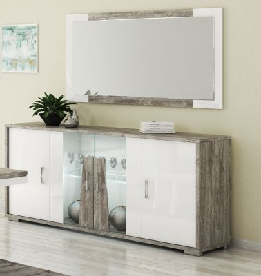 San Martino Kronos 4 Door Sideboard With LED Light