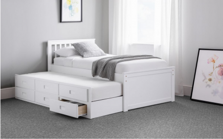 JULIAN BOWEN MAISIE CAPTAINS BED WITH UNDERBED AND DRAWERS
