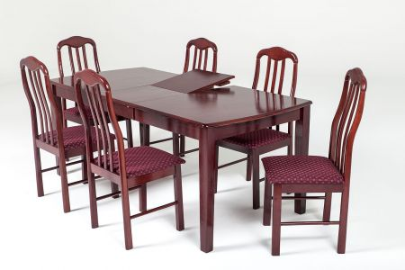Imperial Extending Dining Set With Six Chairs