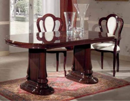 Ben Company Emma Ext - Table Mahogany
