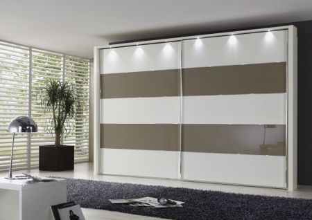 Weimann Hollywood 4 Sliding-door wardrobes with rows 2 and 4 highlighted