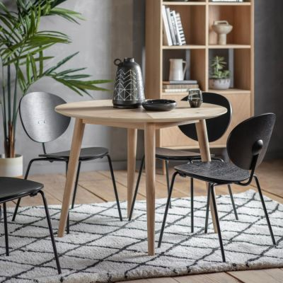Hudson Living Milano Round Dining Table