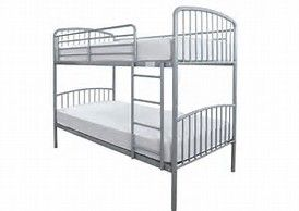 Montreal Silver Bunk Beds