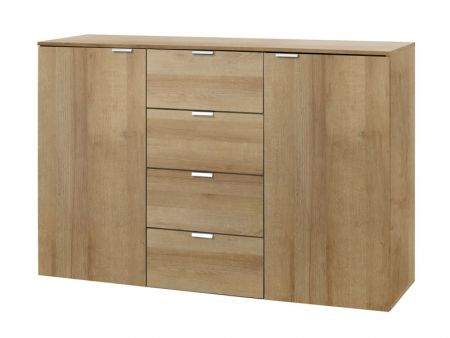 Express Mobel ONE 700 Chest Of Drawers With Wooden Front