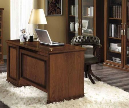 Camel Group Nostalgia Walnut Writing Desk