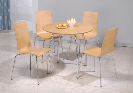 Owl Round Set With Four Chairs