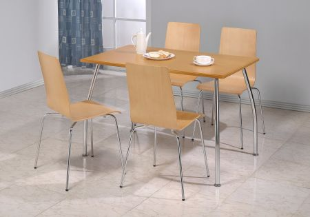 Owl Rectangle Set With Four Chairs