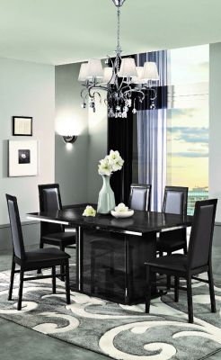 MCS Oxford Grey Dining Table