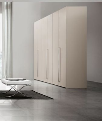 Status Perla White Larch Wardrobe
