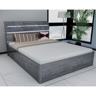 Regency High Gloss Storage Bed (Grey)