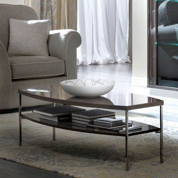 Camel Group Platinum Silver Birch Coffee Table