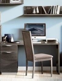 Camel Group Platinum Silver Birch Desk
