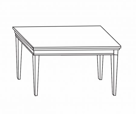 Camel Group Treviso Cherry Rectangular Extendable Dining Table with 2 Extensions