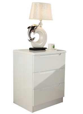 Rugby High Gloss Bedside