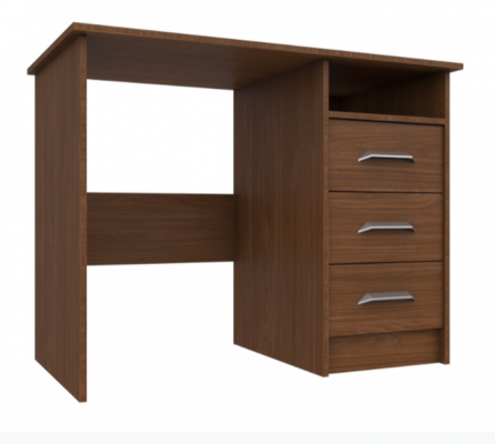 Premium British Collection Mars 3 Drawer Dressing Table