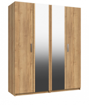 Premium British Collection Watkins 4 Door Robe with 2 Mirrors