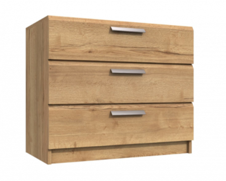 Premium British Collection Watkins 3 Drawer Chest