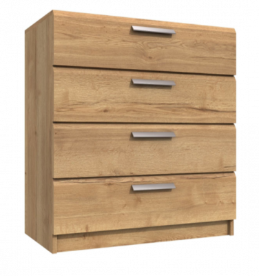 Premium British Collection Watkins 4 Drawer Chest