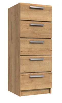Premium British Collection Watkins 5 Drawer Tallboy