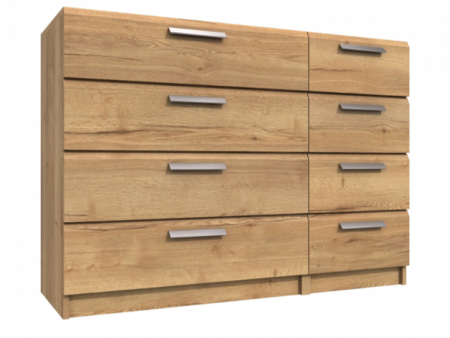 Premium British Collection Watkins 4 Drawer Double Chest