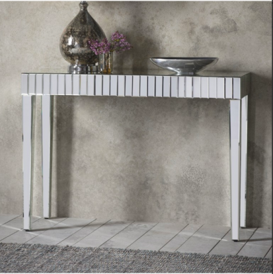 Hudson Living Florence Mirrored Console Table