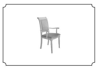 Arredoclassic Dolce Vita Dining Arm Chair