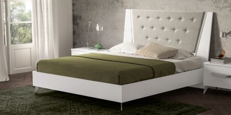 Status Aura Bed Frame White
