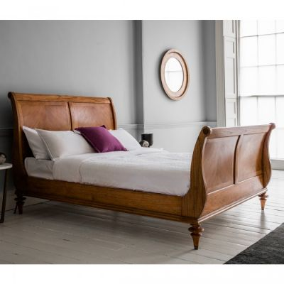 Hudson Living Spire 6 High End Sleigh Bed