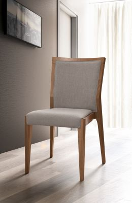 Camel Group Storm Walnut Finish Bedroom Chair