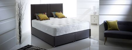 Strathmore 2000 Series Pocket KineTech Mattress- Natural Tufted Soft Luxury Cover