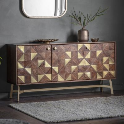 Hudson Living Tate Three Door Sideboard